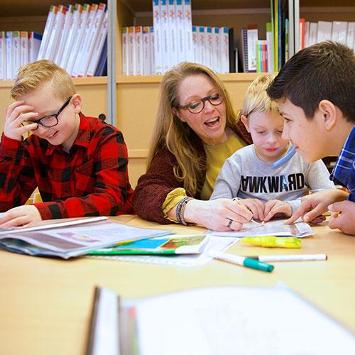 (SBO) De Vonder - Ons onderwijs